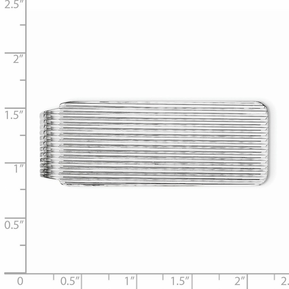 Sterling Silver Textured Money Clip