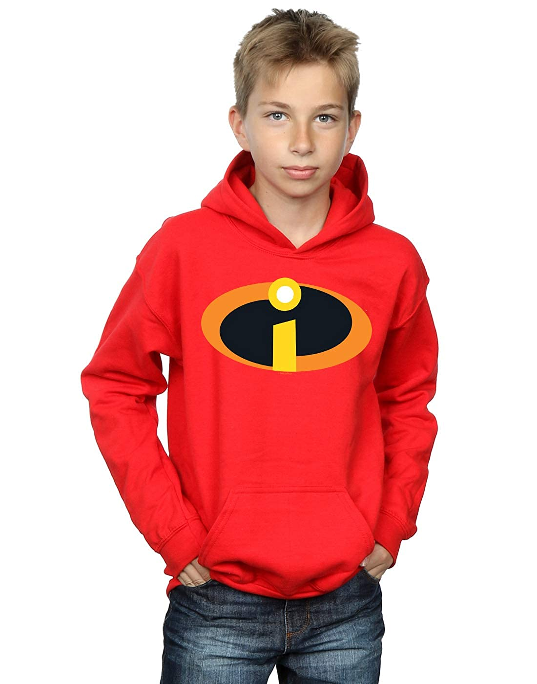 Disney Boys The Incredibles 2 Costume Logo Hoodie Absolute Cult
