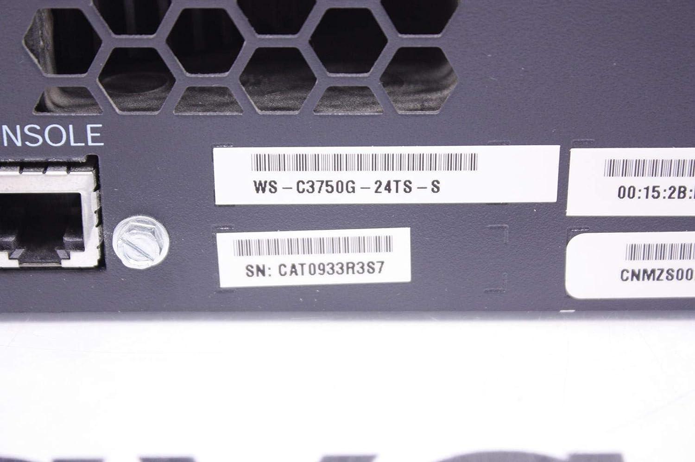 WS-C3750G-24T-S Cisco 3750G Series 24 Port Gigabit Switch