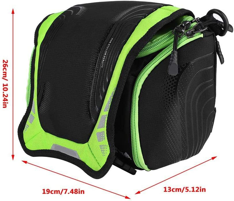 VGEBY1 Bike Handlebar Bag Fashionable Cool Style Waterproof Portable Bicycle Basket Shoulder Pack Bike Front Handlebar Bag