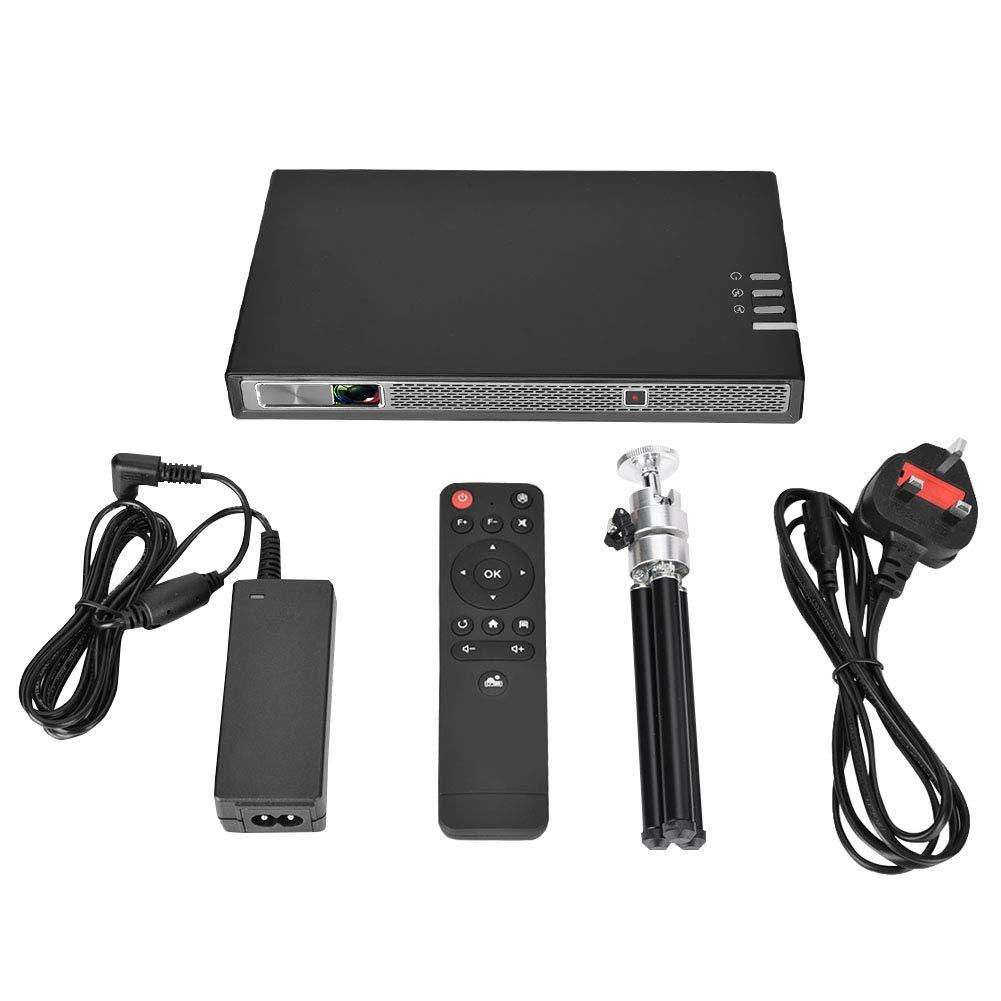 Naroote Mini proyector, portátil Mini Home HD 1080P DLP Proyector ...