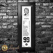 1999 Wayne Gretzky - NHL Legends 6x22 Frame