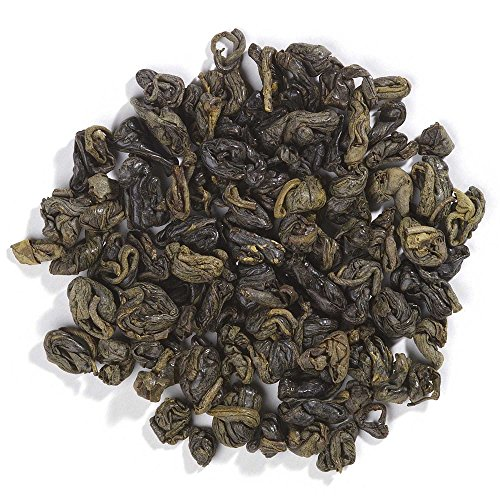 - Frontier Co-op Organic Fair Trade Certified Gunpowder Green Tea, Special Pin Head, 1 Pound Bulk Bag