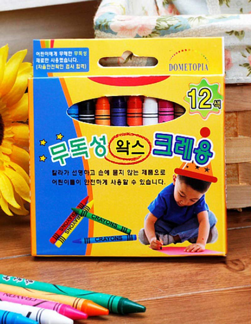 Serendipity Non Toxic Wax Crayon, 12 Colors, Pack of 30 by Serendipity (Image #2)