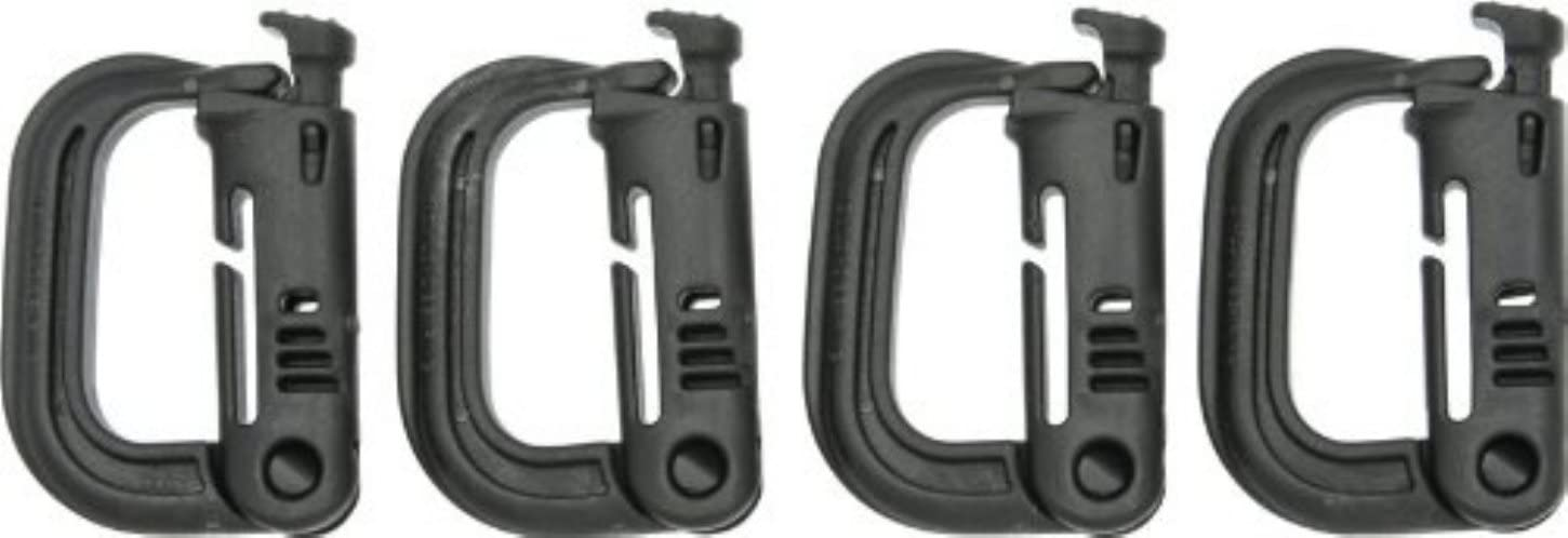 US Military GrimLoc Carabiner D-Ring ITW Nexus FOLIAGE GREEN Made in USA NEW