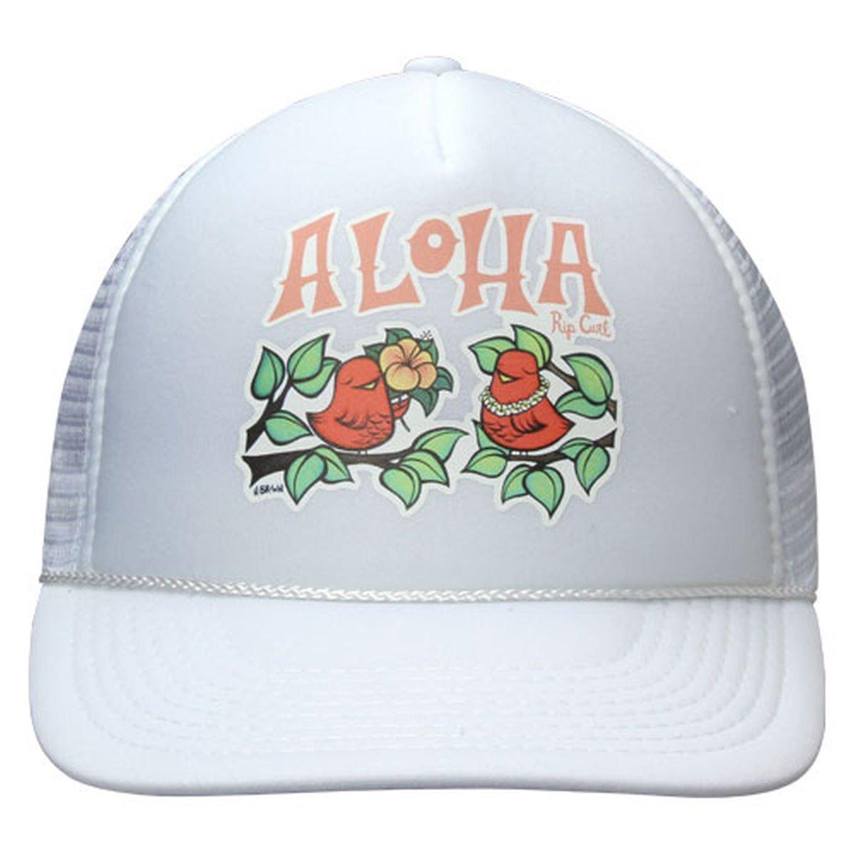 15457252c Rip Curl Womens Beach Chicks Aloha Trucker Hat Cap - White at Amazon ...