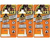 Gorilla Heavy Duty Construction Adhesive, 2.5 oz., White (3 pack)