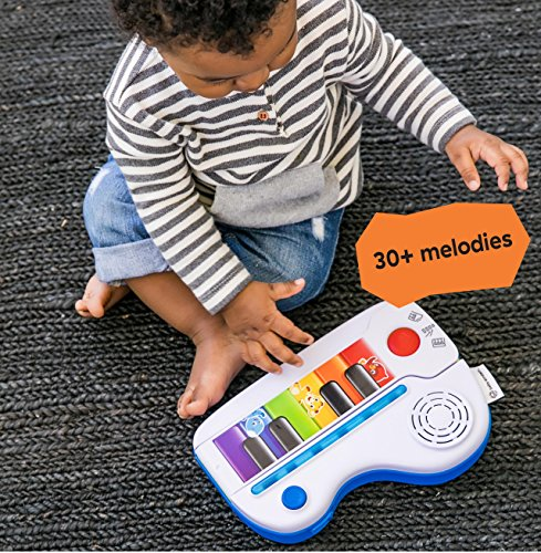 61uH2zBOs7L - Baby Einstein Flip & Riff Keytar Musical Guitar and Piano Toddler Toy with Lights and Melodies, Ages 12 months and up