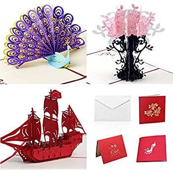 Amazon Pop Up Cards Set For Kids Boys Will Love These 3D