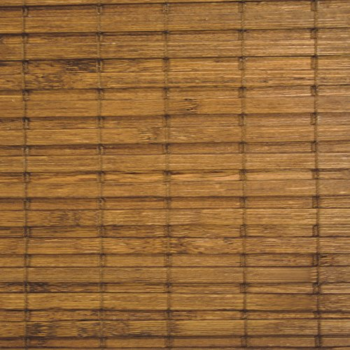 Radiance Cape Cod Bamboo Roman Shade with Valence, 34-Inc...