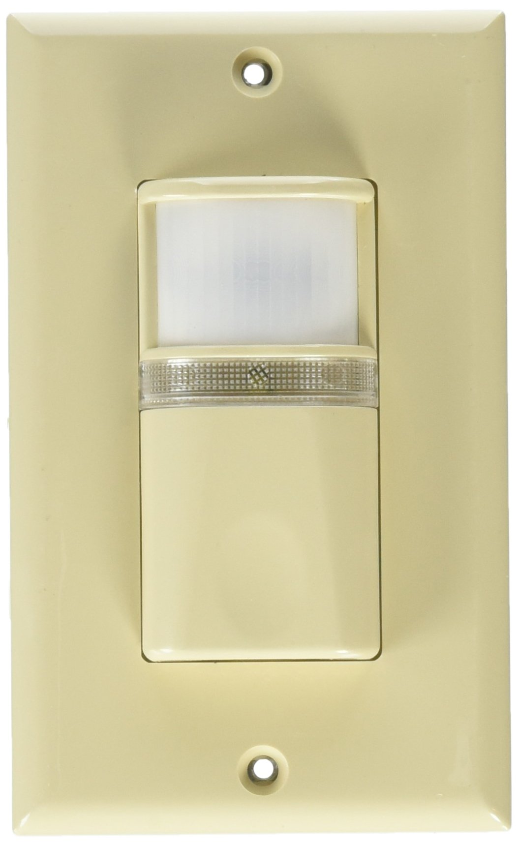 Westgate YM185-I  Vacancy Motion Sensors Wall Switch with Night Light, Title 24 Compliant, Manual ON/Auto OFF, Ivory