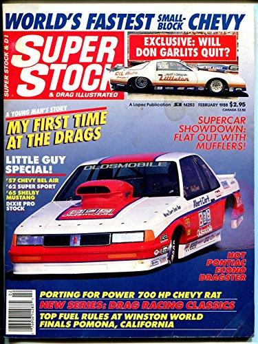 Super Stock & Drag Illustrated 2/1988-Old Cutlass-Garlits-NHRA-AHRA-VG ()