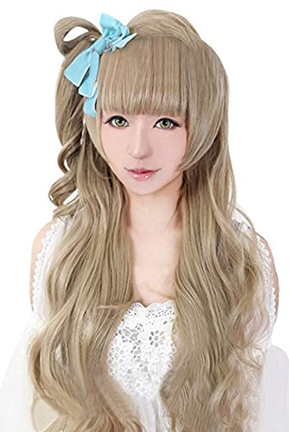 Minami Kotori Long Flaxen Cosplay Wig Gift+Tracking number New Anime Love Live