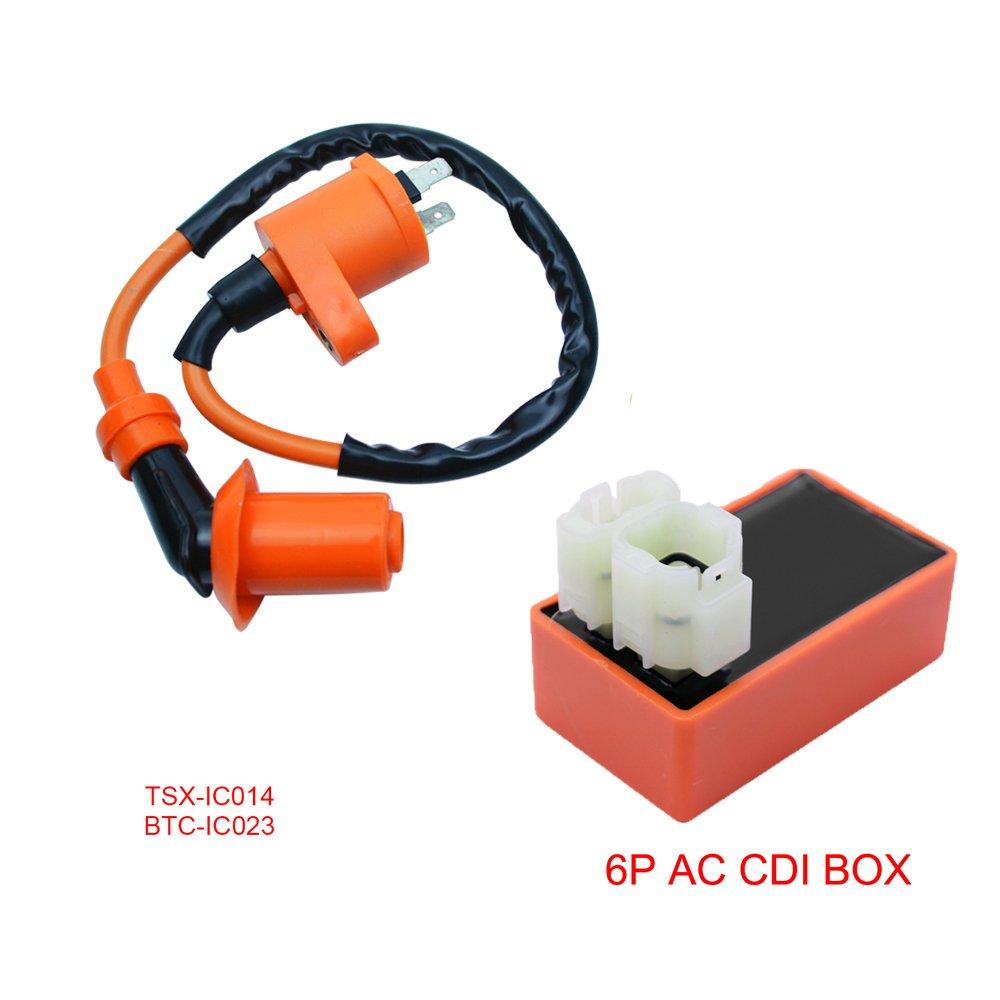 FLYPIG For Honda CRF50 CRF70 CRF80 CRF100 Racing Performance CDI & Coil XR80 XR50 XR70 XR100