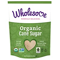 Deals on Wholesome Organic Cane Sugar Non GMO & Gluten Free 10 Pound