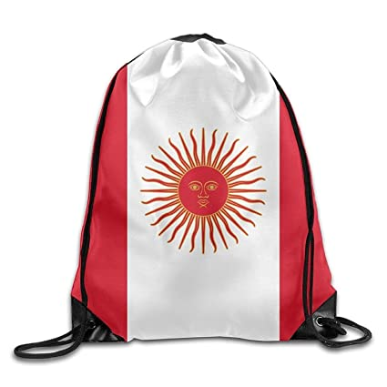 Daisylove Bandera del Perú Personalizado Gimnasio cordón Bolsas de Viaje Mochila Tote Escuela Mochila