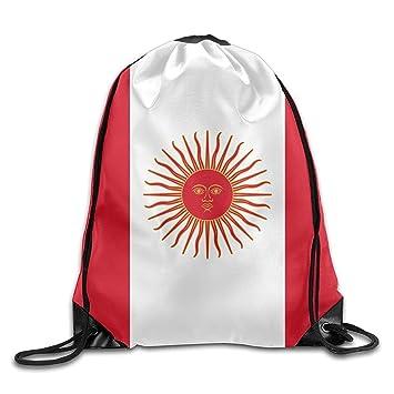 Vilico Bandera del Perú Personalizado Gimnasio Cordón Bolsas de Viaje Mochila Tote Mochila Escolar: Amazon.es: Deportes y aire libre