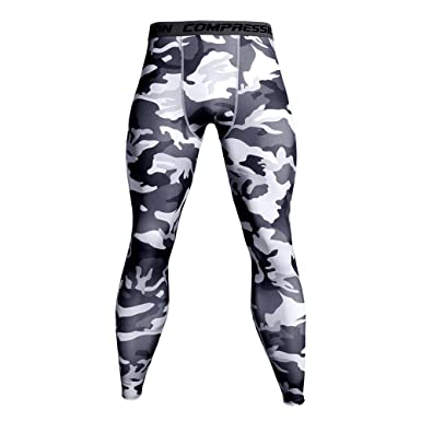 49e58c1aa68d4 Pantalons Homme CIELLTE Fitness Leggings Séchage Rapide Pantalon de Sport  Camouflage Pantalon de Travail Trousers Respirant