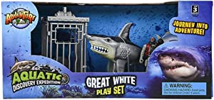 HAPPY DEALS ~ Shark Attack Figure Playset -