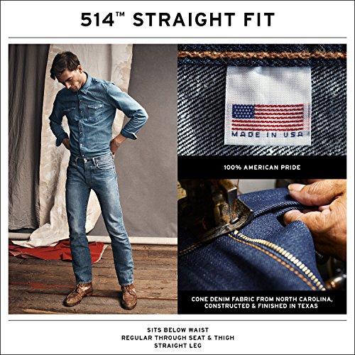 Uomo Levi's Jeans Dark Authentic Da 5qOqvT