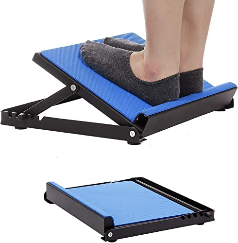 NEPPT Calf Stretcher Slant Board Ankle Foot Calf Stretch Raise Machine Achilles Hamstring Stretcher Device Plantar Fasciitis Stretching Incline Trainer Adjustable Ramp Platform