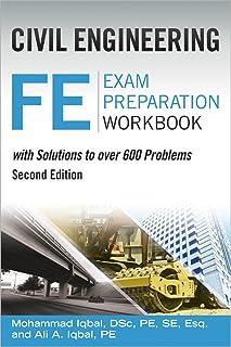 civil engineering fe exam preparation workbook mo iqbal ali iqbal rh amazon com Pe Review Manual Fe Exam Review