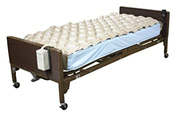 AnHuaR Alternating Pressure Mattress Fits Standard Hospital Beds Inflatable Bed Pad For Ulcer And