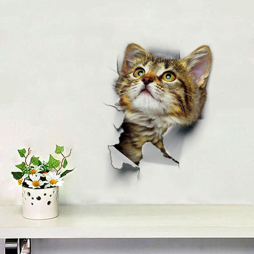 DIY Katze Aufkleber WC Sitz Folienaufkleber Toilettensitz WC Dekor Sticker