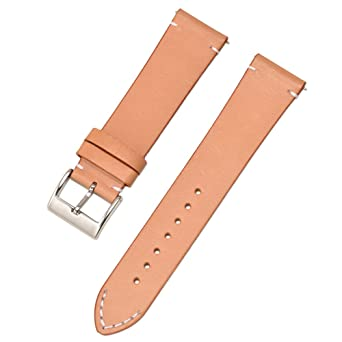 Quick Release Watch Band 1st Layer Genuine Leather Strap For Montblanc Men Women Croco Grain Bracelet Black Brown 18mm 20mm 22mm A Wide Selection Of Colours And Designs Watch Accessories