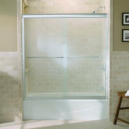 Kohler R702200 G54 Shp Fluence Frameless Bypass Shower Door With