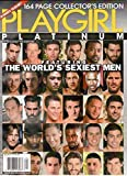 Playgirl Platinum Holiday 2015 #75 Jumbo Collectors Edition