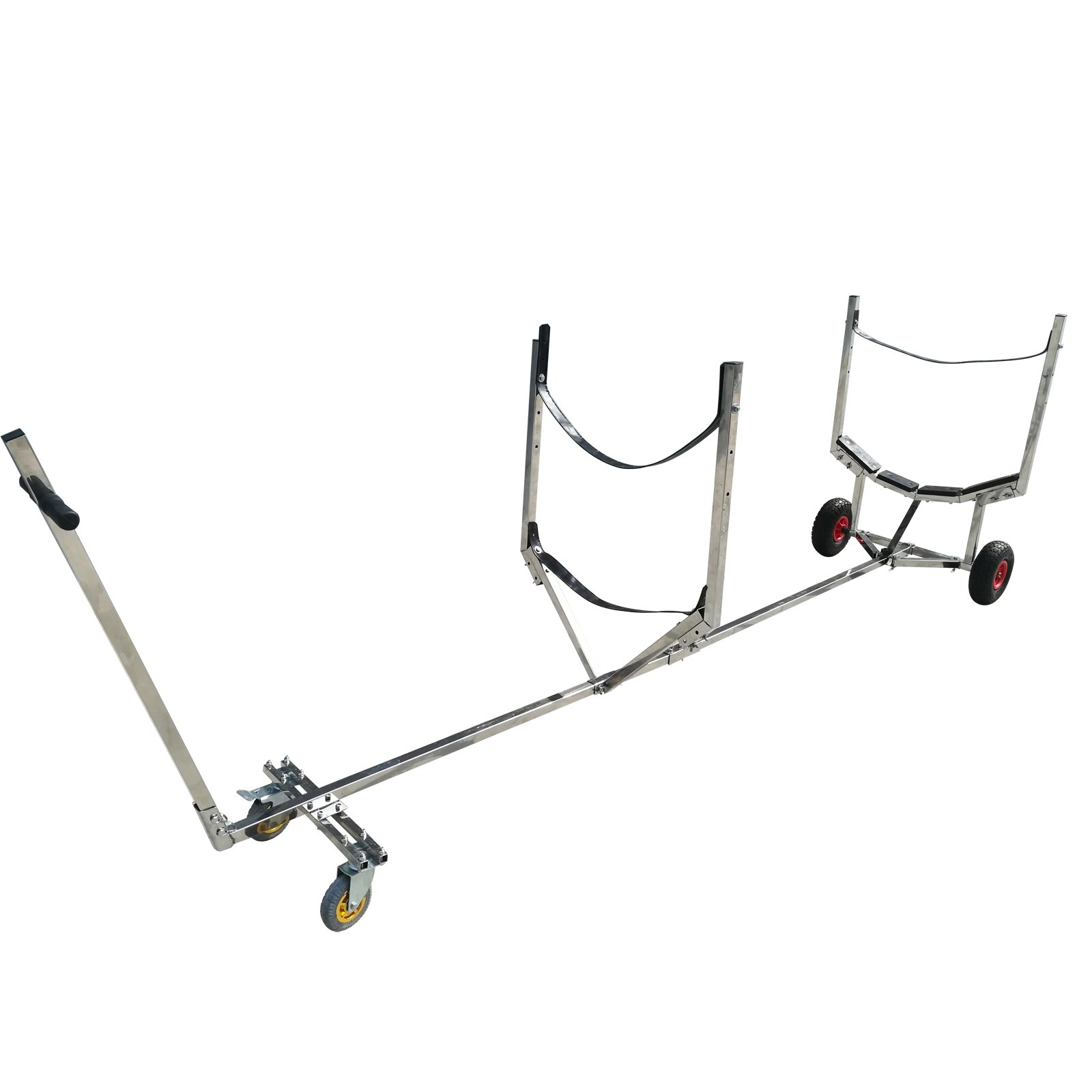 Stainless Steel Kayak Canoe Boat Launching Dolly Wheels Trailer by BRIS