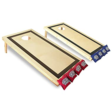Driveway Games Traditional Set Wood Corn Toss Boards