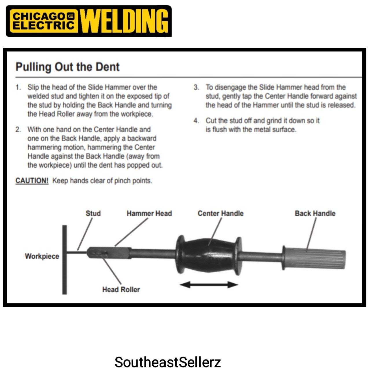 TruePower Stud Welder Dent Repair Kit by TruePower (Image #5)