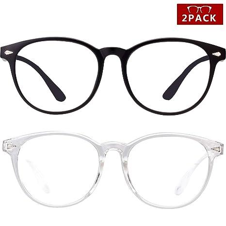 Amazon.com: Gafas de lectura para hombre y mujer, con luz ...