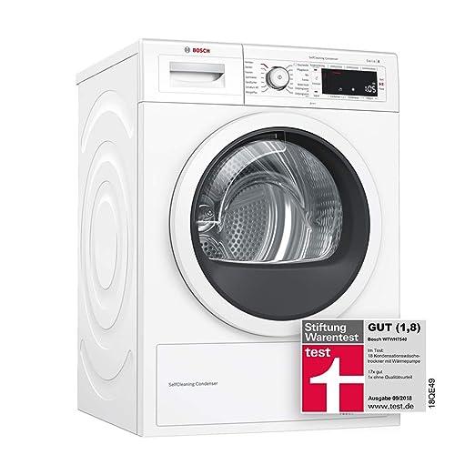 Bosch WTWH7540 Independiente Carga frontal 8kg A+++ Blanco ...