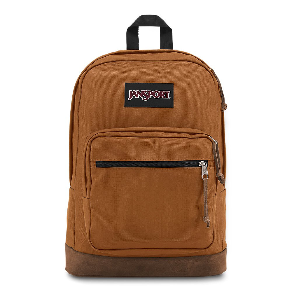 JanSport Right Pack Laptop Backpack - Brown Canyon