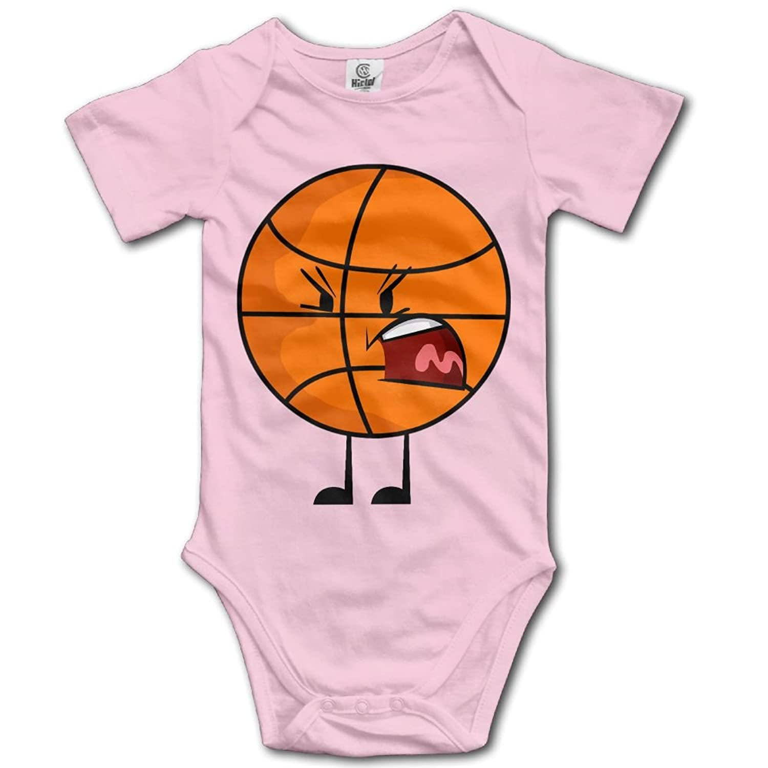 Jaylon Baby Climbing Clothes Romper Object Universe Basketball