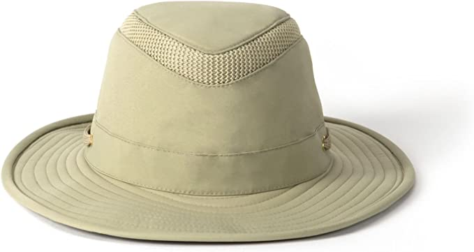 Tilley Endurables Airflo LTM8 Nylamtium Khaki//Olive Hat Bundle with Cloth