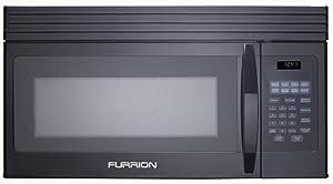 Furrion FMCM15-BL Black 1.5 cu. ft. OTR Convection Microwave Oven