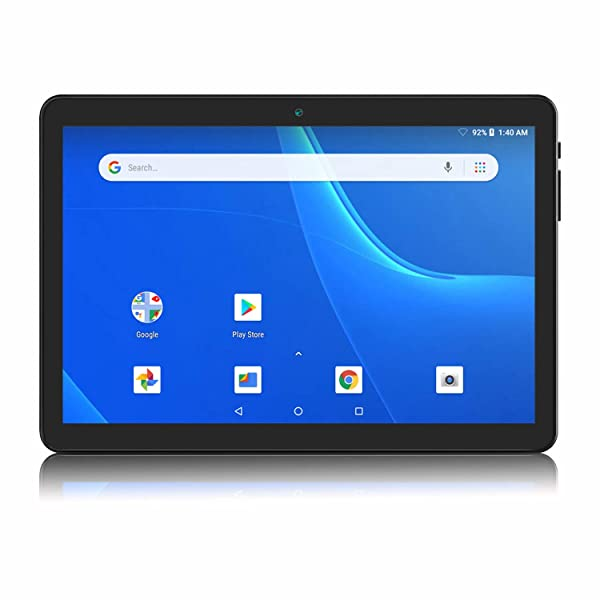 Android Tablet 10 Inch, 5G WiFi Tablet, 16 GB Storage, GMS Certified, Android 8.1 Go, Dual Camera, Bluetooth, GPS, OTG - Black (Color: Black, Tamaño: 10 Inch(1GB+16GB))