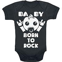 Born To Rock Unisex Body Negro, [Effekte/Besonderheiten] +