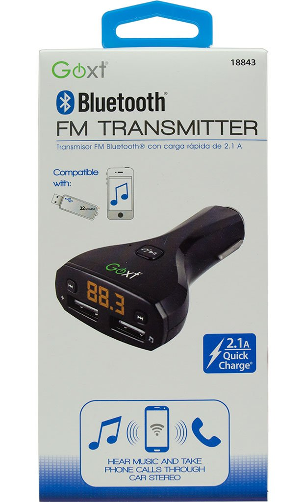 GOXT 18843.0 Bluetooth Direct Plug FM Transmitter