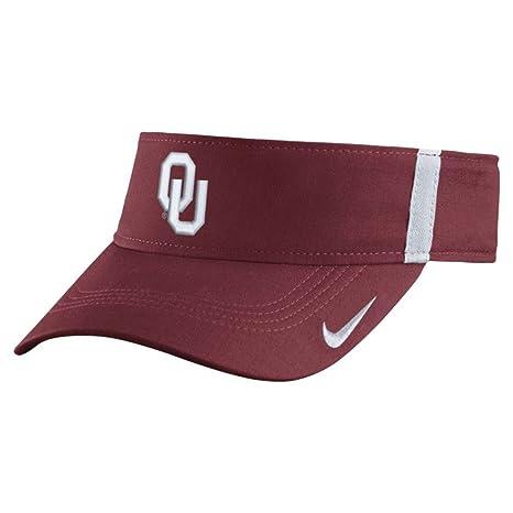 09ce4434d9127 Amazon.com   Oklahoma Sooners Nike Collegiate Aerobill Sideline Team ...