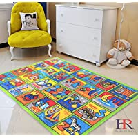 HR LEARNING ABCD NON SLIP/ GEL BACK KIDS BEDROOM /...