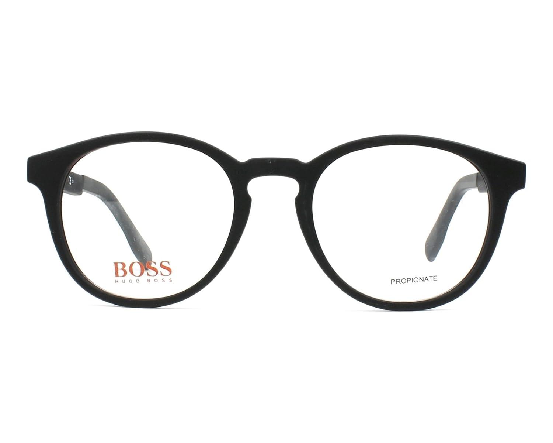 4f96553663 Optical frame Boss Orange Acetate Matt Black (BO 0283 807)  Amazon.ca   Clothing   Accessories