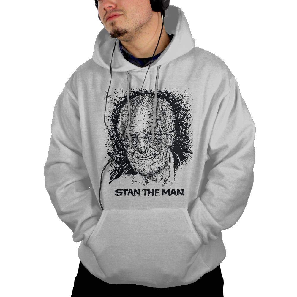 Hero Stan-Lee 2018 Mens Hoodies Casual Sweatshirt