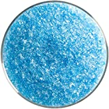 Light Turquoise Blue Transparent Fusible Glass Coarse Frit 90COE 4oz Made From Bullseye Glass