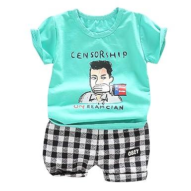 Berimaterry Conjuntos Camisa Bebé Niño Ropa Recién Nacidos Bebe ...