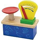 Wooden Weighing Balance Scale Pretend Children Play Kitchen Game
